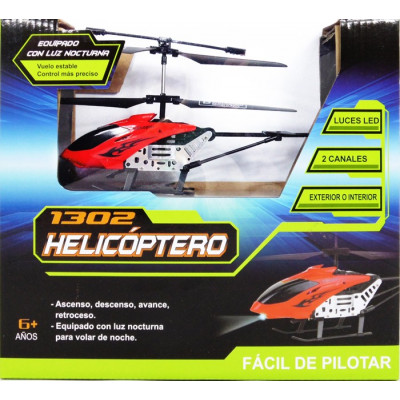 HELICOPTERO RC LH-1302 - ROJO