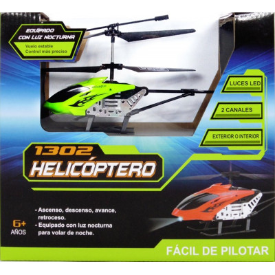 HELICOPTERO RC LH-1302 - VERDE