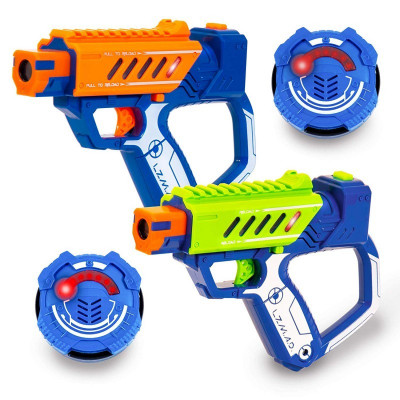 LAZER MAD. SET DE 2 PISTOLAS