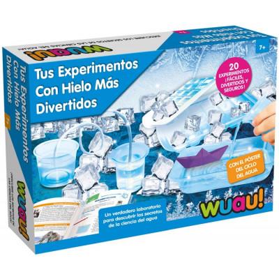 TUS EXPERIMENTOS CON HIELO...