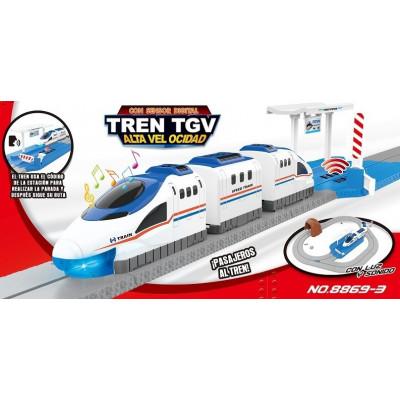 TREN TGV - ALTA VELOCIDAD...