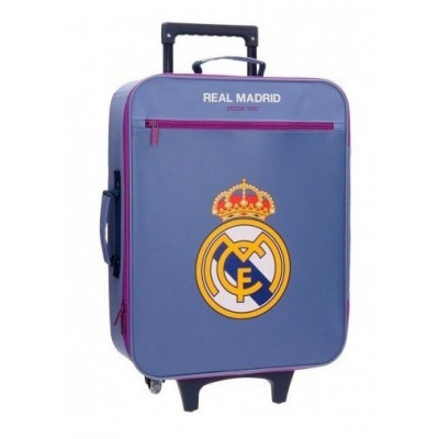 TROLLEY LILA REAL MADRID...