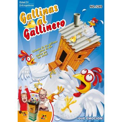 GALLINAS AL GALLINERO -...