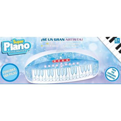 SUPER PIANO AZUL ELECTRÓNICO