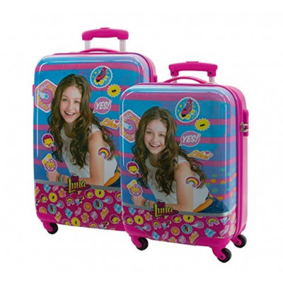 SET 2 TROLLEY ABS 55-68CM 4...