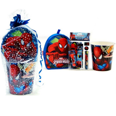CONJUNTO REGALO SPIDERMAN