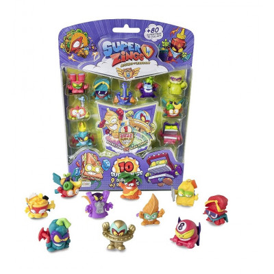 BLISTER SUPERZINGS 5 FIGURINE