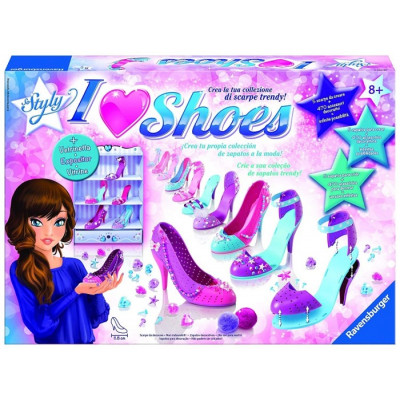 CREA TUS ZAPATOS I LOVE SHOES