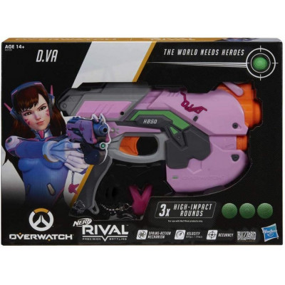 NERF RIVAL OVER WATCH D VA