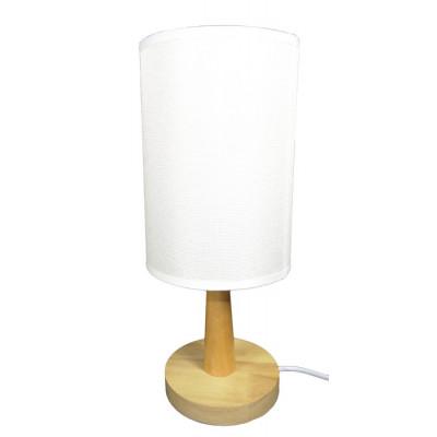 LAMPARA DE MESA MARFIL
