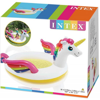 PISCINA HINCHABLE UNICORNEO...