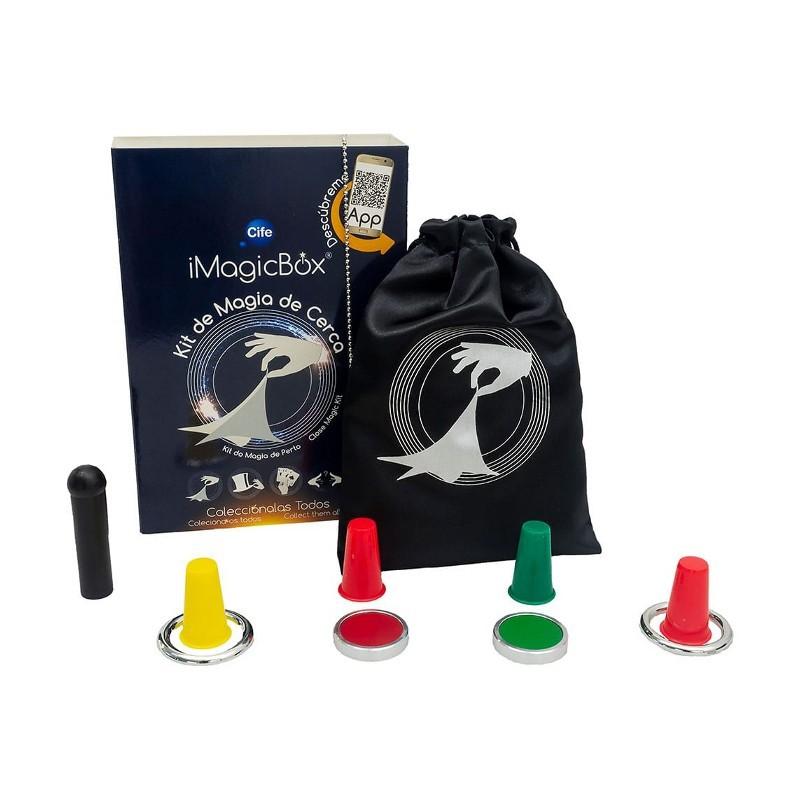 IMAGICBOX MINI EDITION APRENDE MAGIA - KIT DE MAGIA DE CERCA