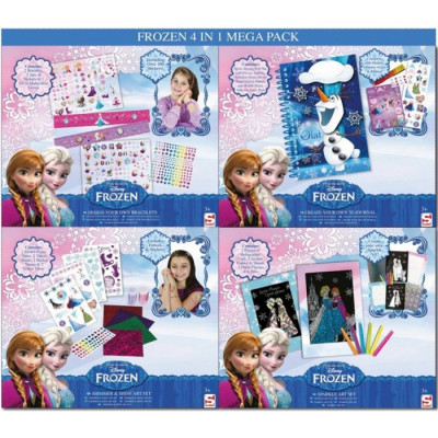 MEGA PACK FROZEN 4 EN 1