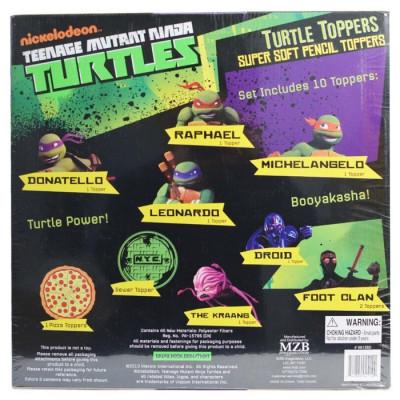 SET 10 TOPPERS TORTUGAS NINJA de la categoría Tortugas Ninja