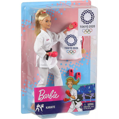 BARBIE PROFESIONES KARATEKA...