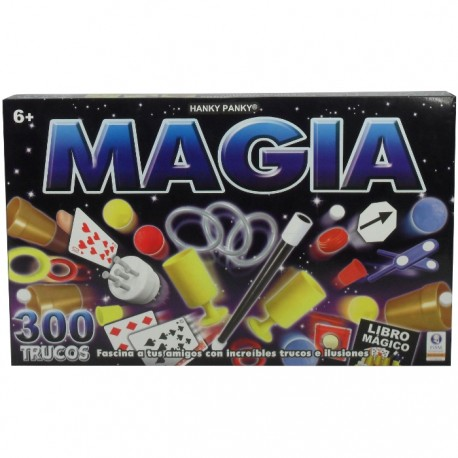 JUEGO  DE MAGIA CON 300 TRUCOS