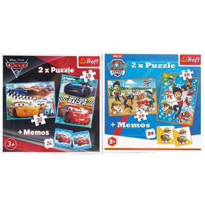 PACK 2 PUZZLES MEMO 2 EN 1...