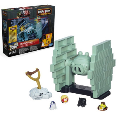 STAR WARS ANGRY BIRDS JENGA TIE FIGHTER
