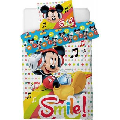 Funda nórdica Mickey smile...