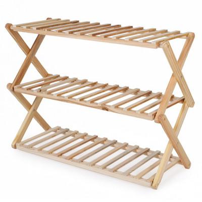 Zapatero plegable de madera...