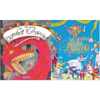 Pack 2 libros de cuentos. 5...