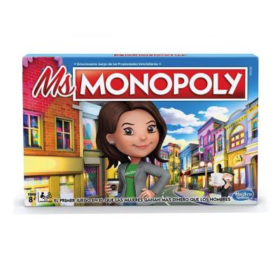 JUEGO DE MESA MS MONOPOLY
