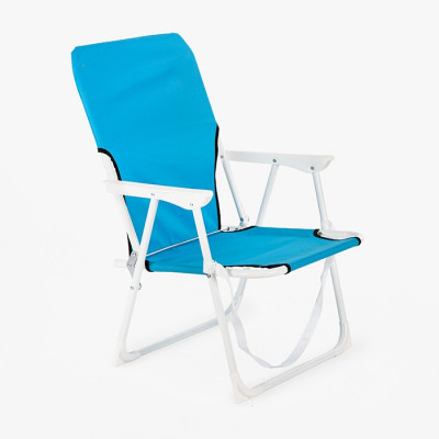 SILLA PLAYA PLEGABLE AZUL -...