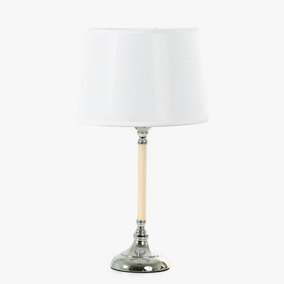 LAMPARA SOBREMESA ACERO CON...