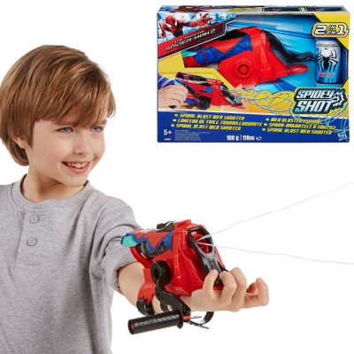 SPIDERMAN SPIRAL BLAST WEB SHOOTER