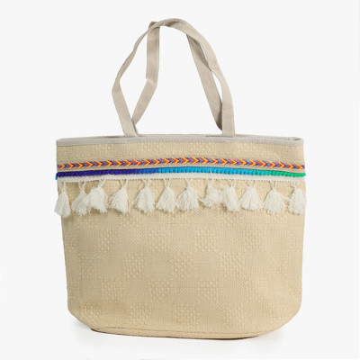 BOLSO COLOR NATURAL CON...