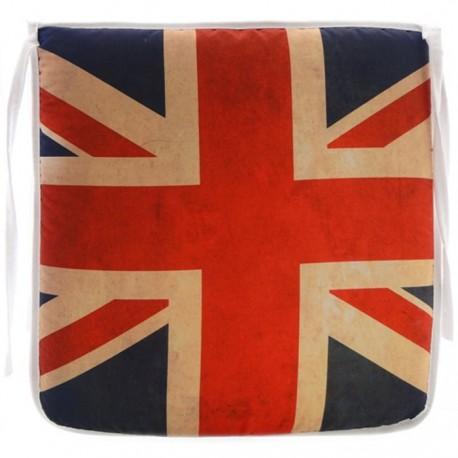 PACK 4 COJINES SILLA UNITED KINGDOM 40x40CM de la categoría Decoración Textil