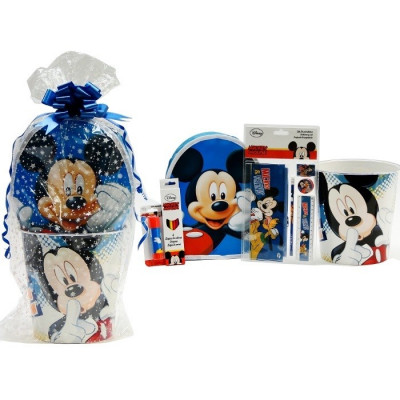 SET REGALO ESCOLAR MICKEY MOUSE