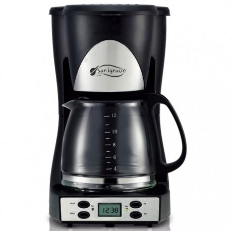 CAFETERA DE GOTEO DIGITAL SAN IGNACIO 1000W 1.5L de la categoría Electrodom. Café y Té