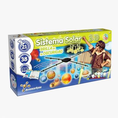 SISTEMA SOLAR 3D XL