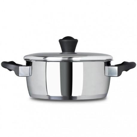 CACEROLA CON TAPA 24CM HANOI FAGOR de la categoría Para Cocinar Cocción