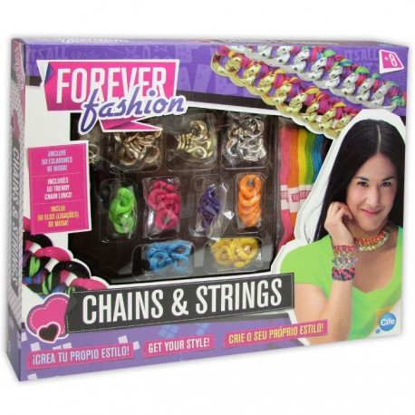FOREVER FASHION CHAINS AND STRINGS