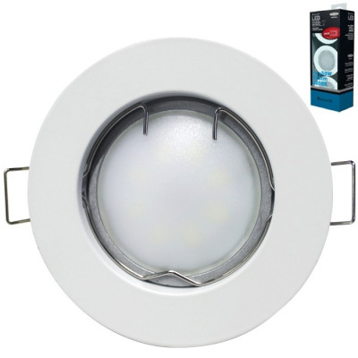 PACK 3 FOCOS LED FIJOS SEVENON BLANCO