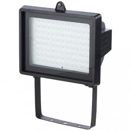 PROYECTOR LED EPISTAR 96 LEDS NEGRO 6W DAYRON de la categoría Iluminación Exterior