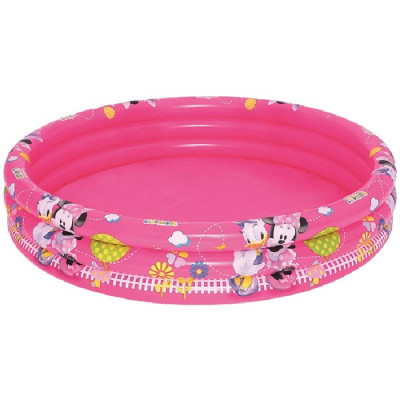 PISCINA 3 ANILLOS MINNIE MOUSE 152x30CM