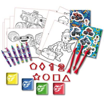 MALETÍN FANTASÍA HOLOGRÁFICO BLAZE de la categoría Dibujar y Colorear