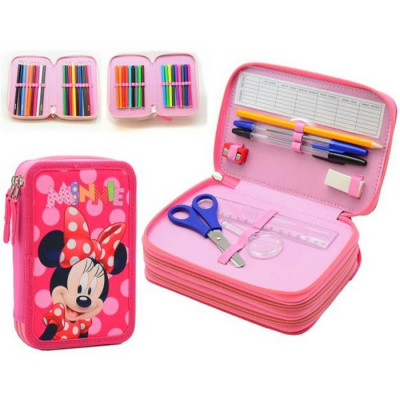 ESTUCHE 3 PISOS MINNIE MOUSE