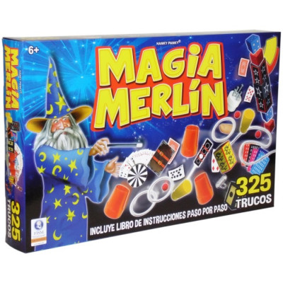 MAGIA MERLÍN 325 TRUCOS