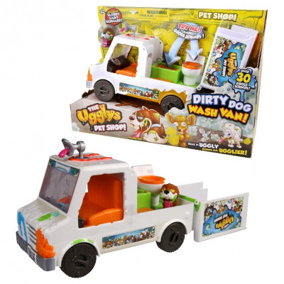 THE UGGLYS PET SHOP - DIRTY DOG WASH VAN