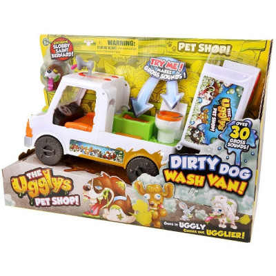 THE UGGLYS PET SHOP - DIRTY DOG WASH VAN de la categoría