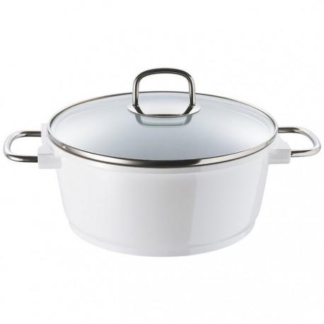 CACEROLA Ø24x10,5CM 4.5L AL FUND CERA+ WHITE KNIGHT BERGNER de la categoría Para Cocinar Cocción