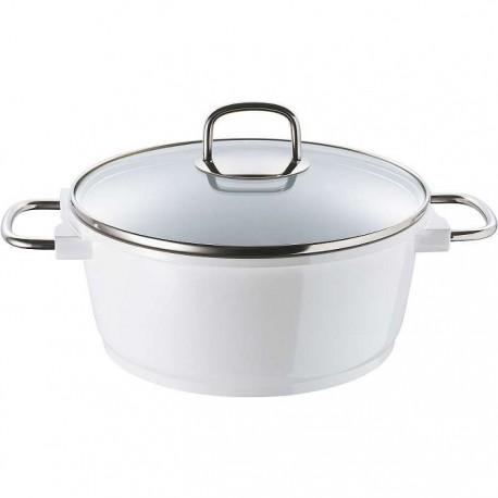 CACEROLA Ø28x13CM 6,9L AL FUND CERA+ WHITE KNIGHT BERGNER de la categoría Para Cocinar Cocción