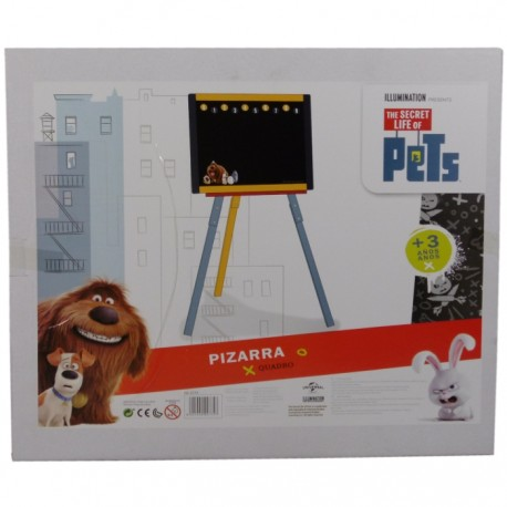 PIZARRA 3 PATAS FIJA THE SECRET LIFE OF PETS