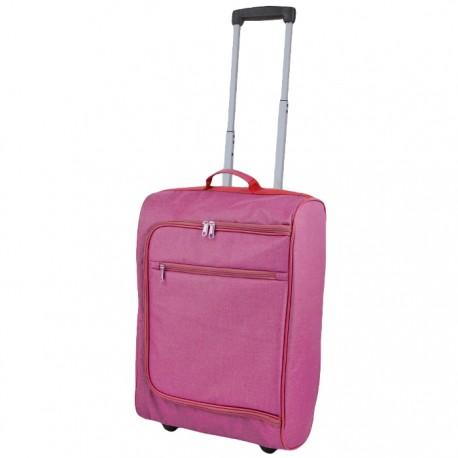 MALETA TROLLEY 50x35x19CM - ROSA de la categoría Maletas y Accesorios Viaje