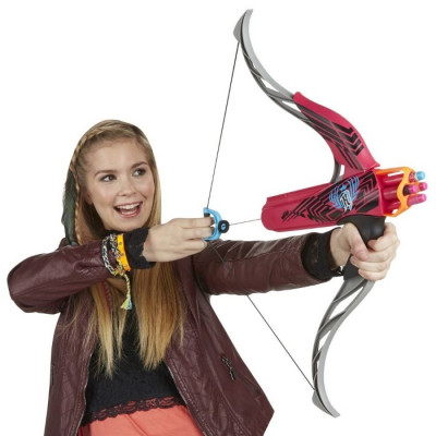 NERF REBELLE STRONGHEART BOW - FUCSIA