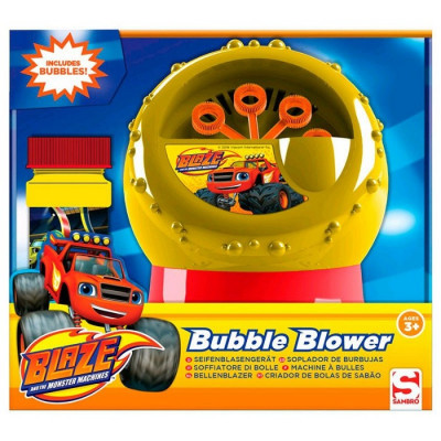 MAQUINA DE BURBUJAS BLAZE Y LOS MONSTER MACHINES